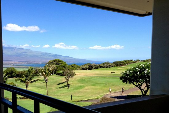 Kahili Golf Course: view from the restaurant