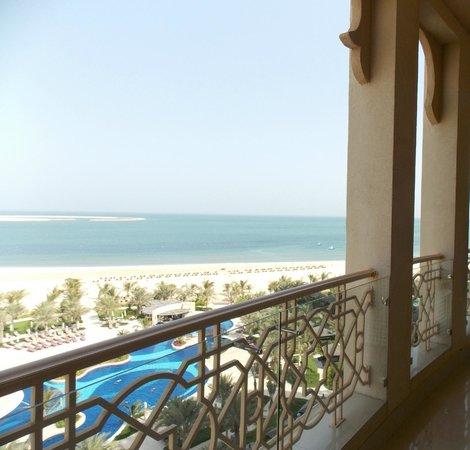 Waldorf Astoria Ras Al Khaimah: Massive balcony