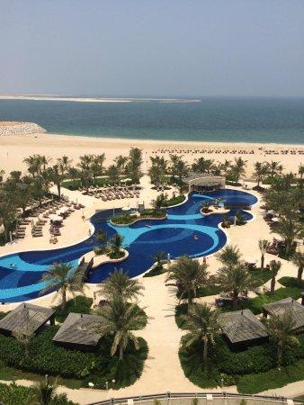 Waldorf Astoria Ras Al Khaimah: View from our balcony