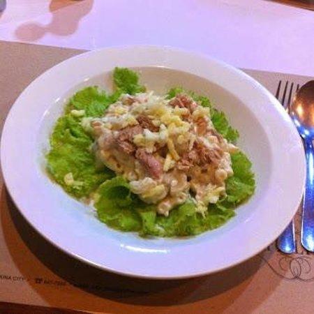 Cafe Lidia: Tuna Macaroni Salad 150php