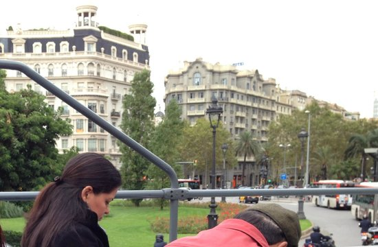 Barcelona City Tour: A view from the bus