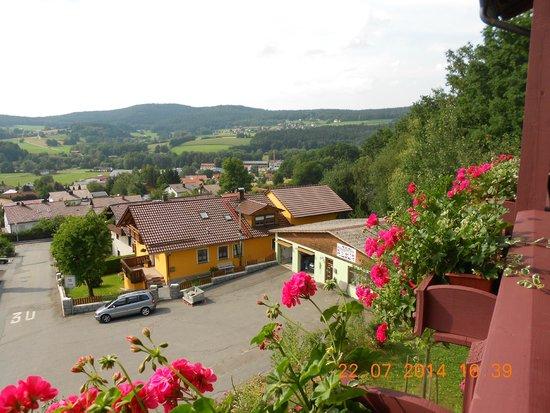 Spirit & Spa Hotel Birkenhof am Elfenhain (Ferienhotel Birkenhof KG): Blick vom Balkon