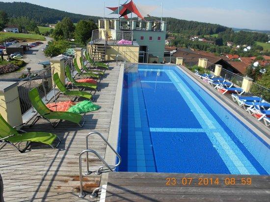 Spirit & Spa Hotel Birkenhof am Elfenhain: Dachpool