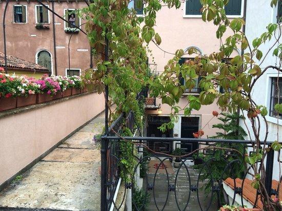 Hotel Sant'Antonin : terrasse