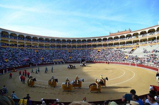Las Ventas Tour : Начало корриды