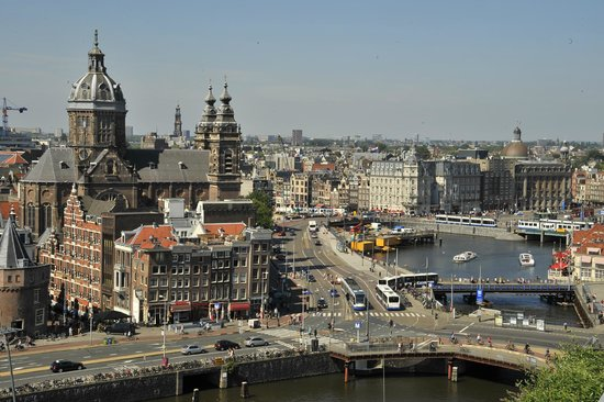 DoubleTree by Hilton Hotel Amsterdam Centraal Station: View from 11th floor