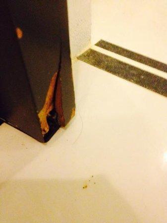 B-Lay Tong Phuket: hair in the bathroom broken door