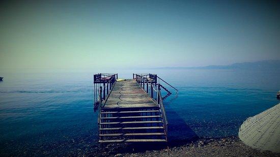 Assos Sardunya Butik Hotel: Plaj