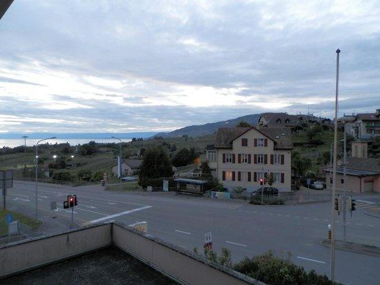 Hotel de Chailly: Вид на Женевское озеро