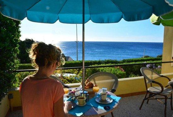Hotel Cap Riviera: Terrasse