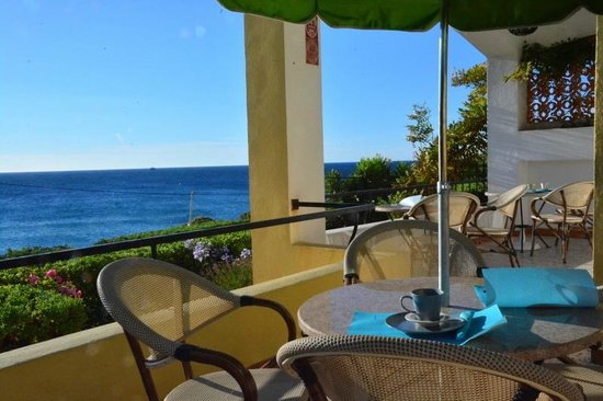 Hôtel Cap Riviera : Terrasse