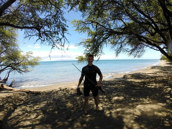 Top Shot Spearfishing - Maui: Just finished spearfishing