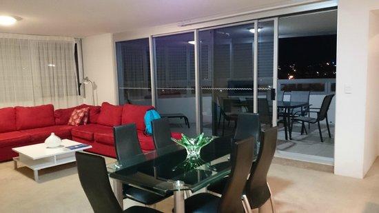 Tweed Ultima Resort Gold Coast: balcony