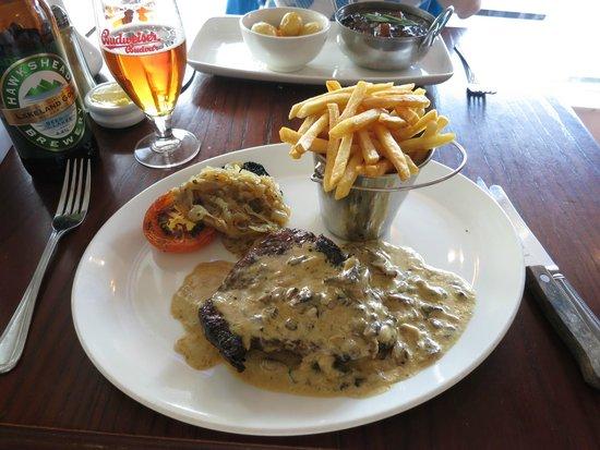 Jackson's Bistro: Prime UK rump steak