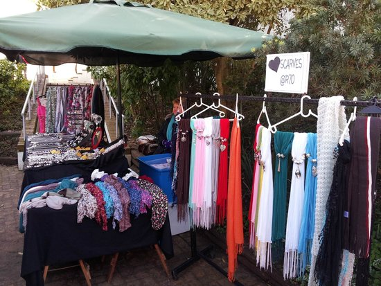 Slow Market Stellenbosch: Costume Jewellery, Freshwater Pearls, Scarves to pick and choose!