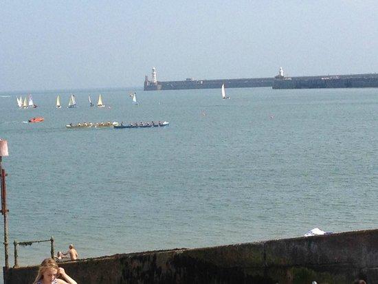 Best Western Plus Dover Marina Hotel & Spa: Sea