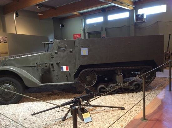 Museum of the Battle of Normandy: Heavy Equipment