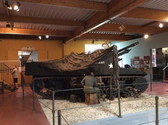 Museum of the Battle of Normandy: American Tank