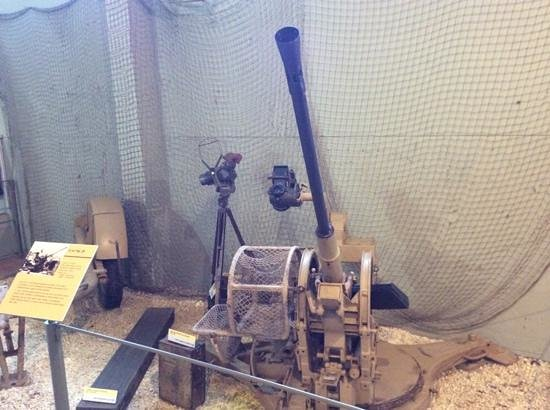 Museum of the Battle of Normandy: Anti-Aircraft Gun
