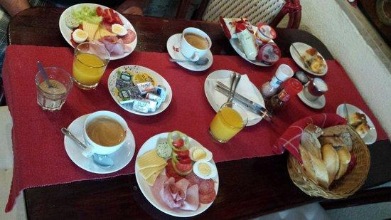 Penzion Portus: Ontbijt voor 2 personen