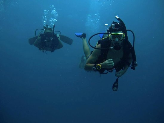 Big Blue Diving: Us while diving