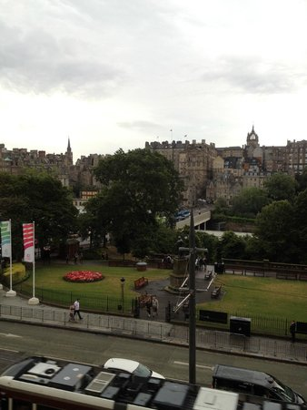 The Old Waverley Hotel: View from room 211