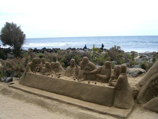 Paseo Costa Canaria: Kunst aus Sand