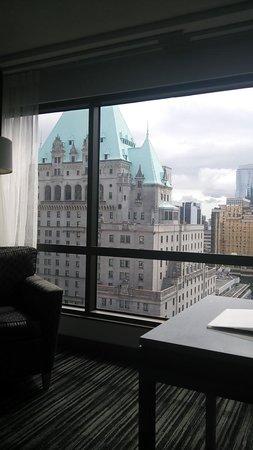 Hyatt Regency Vancouver: 部屋からの眺め