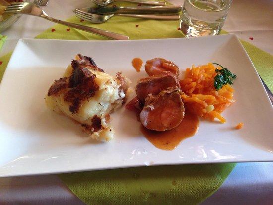 Green Lake Hotel Weiher: Esempio di piatto