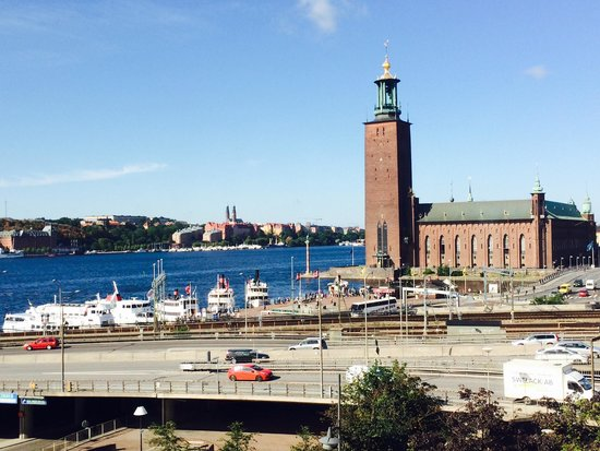 Sheraton Stockholm Hotel: View from our room