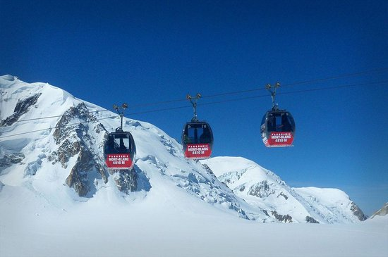 Panoramic Mont-Blanc gondola