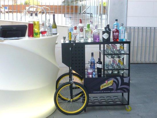 Hotel Atenea Port Barcelona Mataro : chariot à alcool