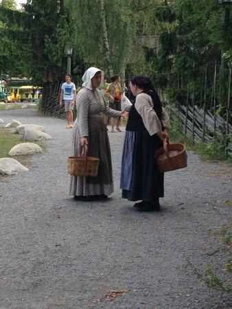 Musée de plein air de Skansen : villagers