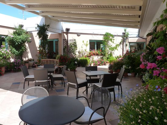 Park Hotel Asinara: terrasse petit déjeuner