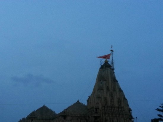 Somnath Temple: Morning view of temple