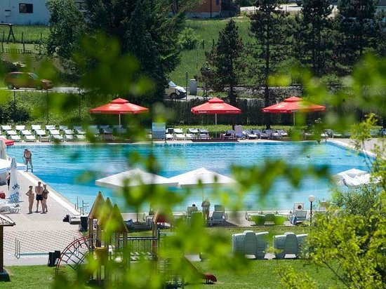 Hotel Terme Jezercica: Outdoor pools