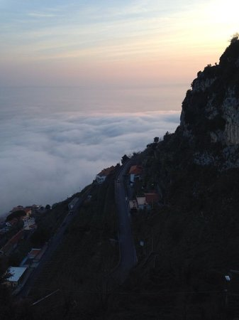 Hotel Le Rocce : Above the Clouds