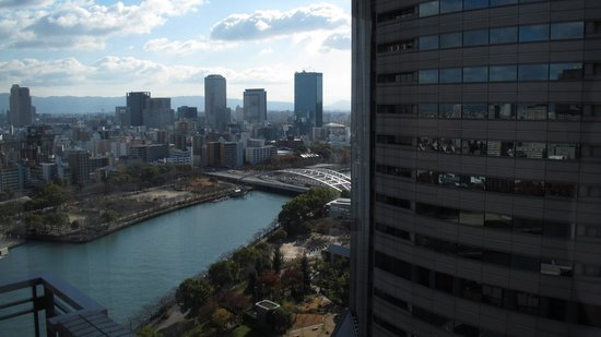Imperial Hotel Osaka: the view