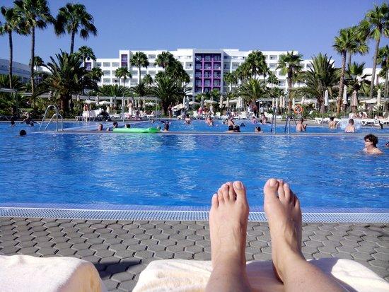 ClubHotel Riu Gran Canaria: Una de las piscinas
