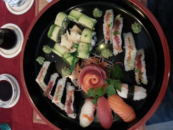 Sumo Sushi Bar: Meine Lieblingsplatte
