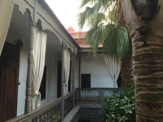 Les Jardins d'Henia: Vue de la chambre