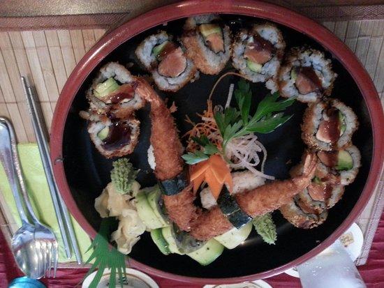 Sumo Sushi Bar: Frittiertes Sushi :)