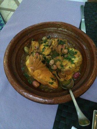 Les Jardins d'Henia: Tajine poulet/citron un délice !!