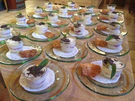 Chalet Hotel Les Blancs : Soufflé glacé au Limoncello