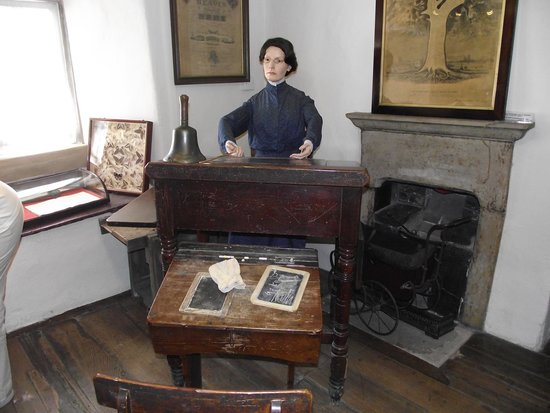 Bakewell Old House Museum: The Museum School Teacher