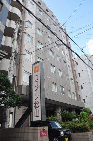 Roco Inn Matsuyama : ホテルの外観