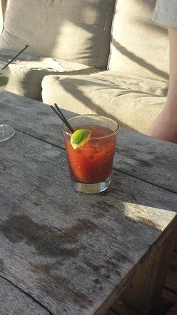 Cooper Island Beach Club Restaurant: Bloody Mary