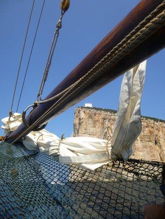 The Andrea Jensen Boat Trip: Sailing past the cliffs
