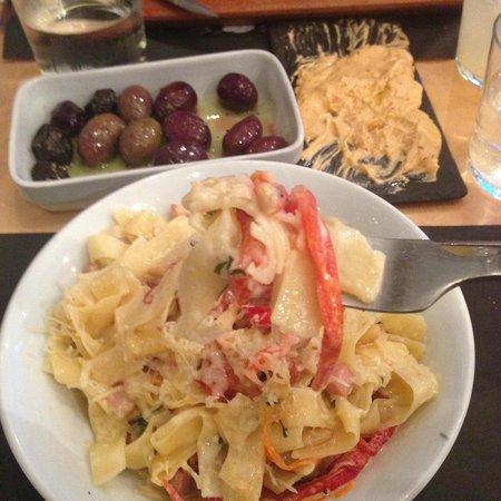 Ergon Greek Deli + Cuisine: Pork pasta: I could have eaten this everyday!
