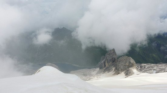 Marmolada: Magnificent view...